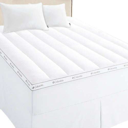 Columbia Ice Fiber Cooling 3 In Mattress Topper Queen They Do Go On Sale Seen It As Low As