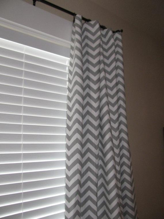 Home-Gray-Chevron-Curtain   Gray Chevron Curtains – True