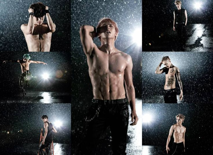 AAAAHHHH THOSE ABS ♥ I CAN'T WAIT FOR THEIR COMEBACK