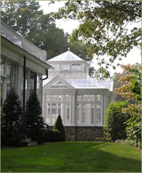 Wish my HOUSE was a tenth as awesome as this English GREENHOUSE!