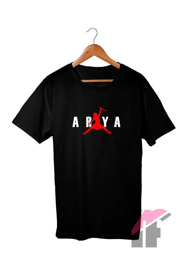 Arya Stark Air Jump Parody T Shirt