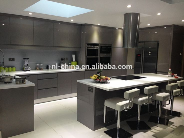 Lacquer finish painted kitchen cabinets mf cabinets for Best lacquer for kitchen cabinets