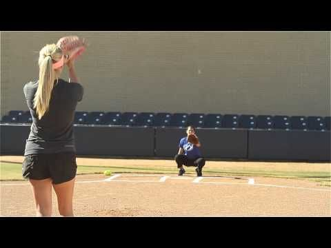 Softball Pitching Drills: Around the world - Amanda Scarborough #justbats #softball