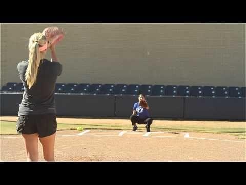 Softball Pitching Drills: Around the world - Amanda Scarborough #justbats #softball