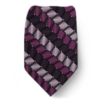 Mens Silk Pocket Square - magenta-ish purple by VIDA VIDA