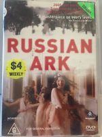 RUSSIAN ARK - A MASTERPIECE ON EVERY LEVEL (R0-PAL-GOOD) - DVD #439