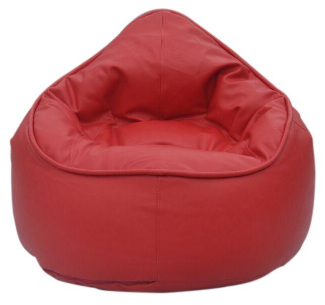 The Pod Bean Bag Chair - Red