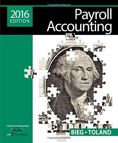 Payroll Accounting 2016 (with CengageNOWTMv2 1 term Printed Access Card) http://ift.tt/2jybNHo