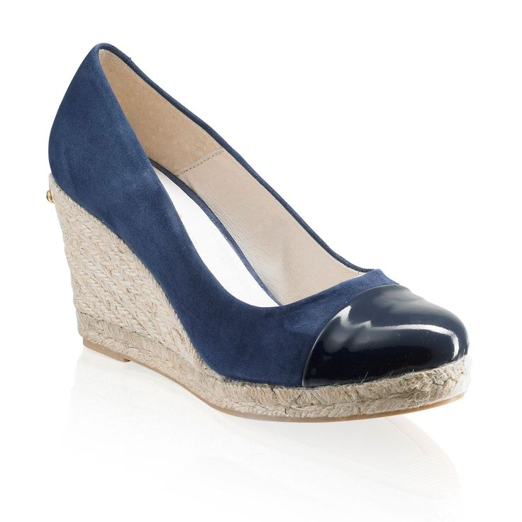 Russell and Bromley COCO-POP  Toe-Cap Rope Wedge   £125.00