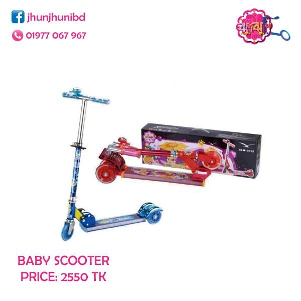 Baby Scooter Price 2550 TK Call us at 01977067967 or inbox us to order. #scooter #babyscooter #babytoy #toyBD #toyDhaka
