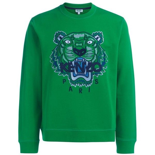 Felpa Kenzo Tigre in Cotone Verde (270 735 LBP) ❤ liked on Polyvore featuring accessories, eyewear, sunglasses, verde, kenzo sunglasses, kenzo, kenzo glasses and kenzo eyewear