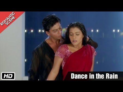 Dance in the Rain - Romantic Scene - Kuch Kuch Hota Hai - Shahrukh Khan, Kajol - YouTube