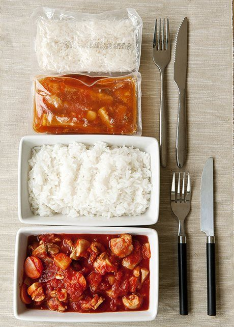 Sweet and sour chicken with rice -  a girl called jack