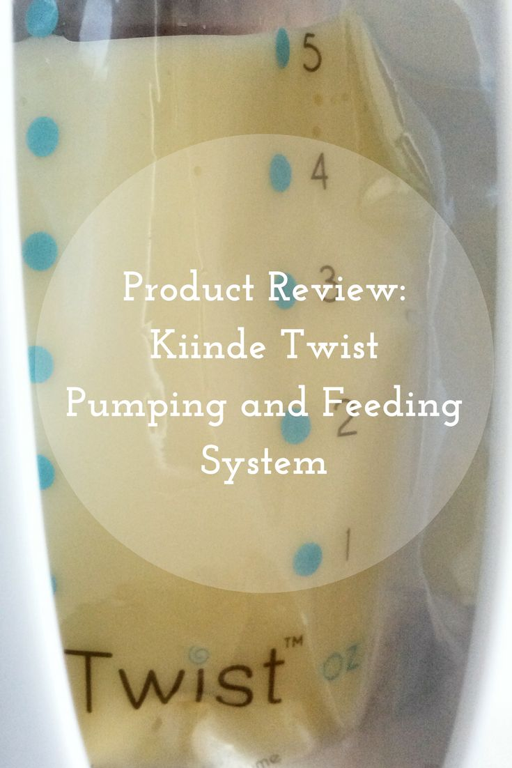 Kiinde Twist Pumping and Feeding Breastmilk & Breastfeeding System Product Review