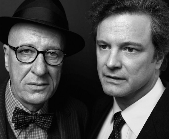 Geoffrey Rush and Colin Firth  King George VI  The King's Speech