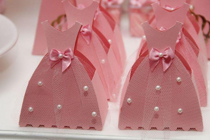 Caixa vestido Princesa bailarina