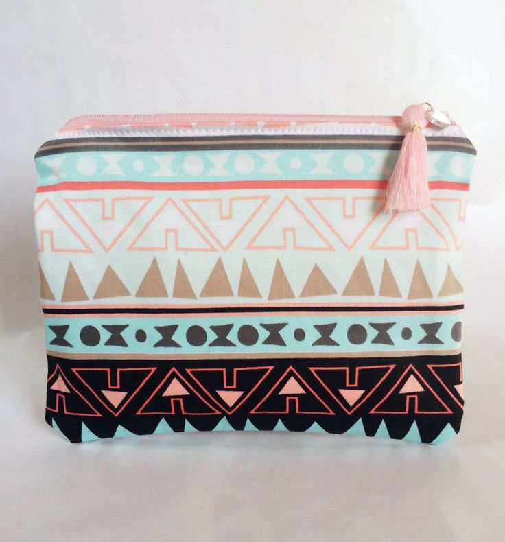Western Makeup Bag/Pouch by strawberriesncreamm on Etsy