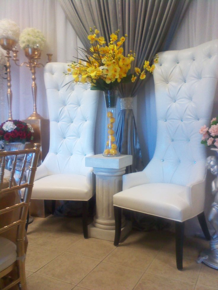 King And Queen Chair Rentals Toronto (GTA)   The Ultimate Wedding Project    The