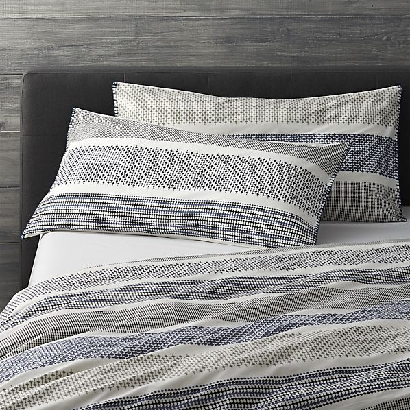 Set of 2 Medina King Pillow Shams  | Crate and Barrel