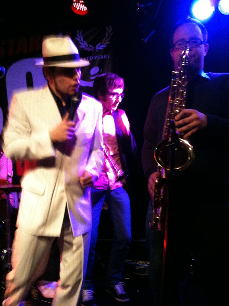 The main band at that night was the Pannonia Allstars Ska Orchestra ... probably one of the best ska bands in my opinion