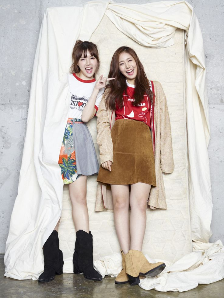 Yerin & SinB (G-Friend) - MAPS Magazine October Issue '15
