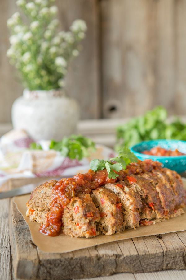 Sneak Peek Recipe inside Juli Bauer's Paleo Cookbook: Mexican Meatloaf #paleomg #julibauerspaleocookbook