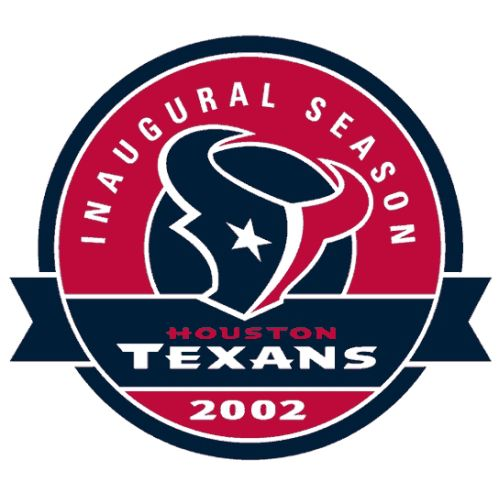 Custom or design houston texans logo iron on decals stickersheat transfers for your