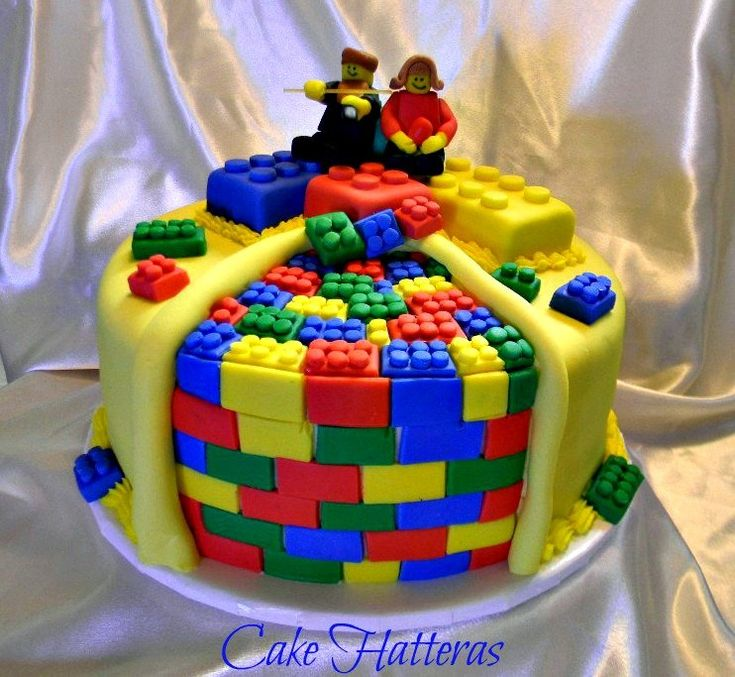 1000+ Images About Lego Birthday Cakes On Pinterest