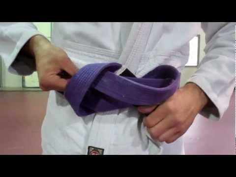 Video :)   How To Tie a Jiu Jitsu Gi Belt