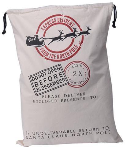 [EBay] Wholesale 11Pcs/Lot Drawstring Christmas Gift Bag 12 Styles Big Santa Sacks Canvas Bags Christmas Stockings