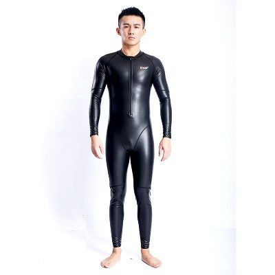 Swimsuit waterproof PU swimwear competitive mens swimsuits arena racing swimming suit chlorine resistant warm full body NEW
