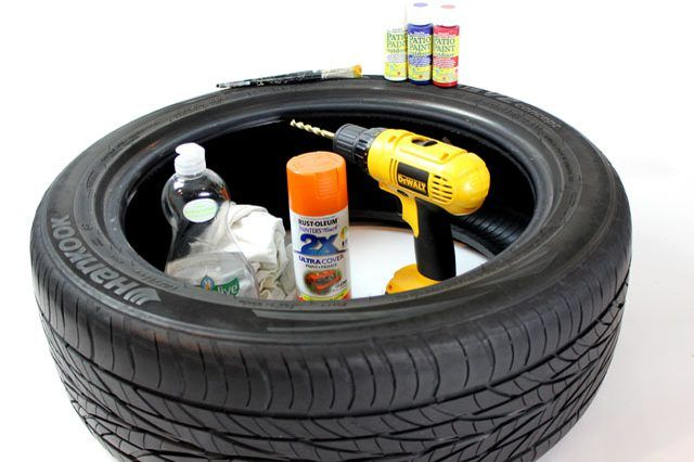 It is possible to paint on rubber, but which paint you use will depend on your painting project and if you want to be able to remove the paint.