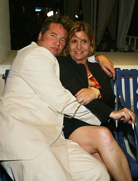 Carrie Fisher & Val Kilmer