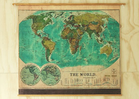 264 best maps images on pinterest maps world maps and antique maps vintage world map gumiabroncs Gallery