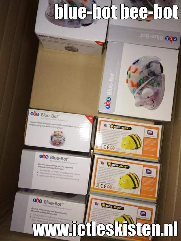 blue-bot bee-bot    Wij halen alles voor u uit de kist.  www.ictleskisten.nl