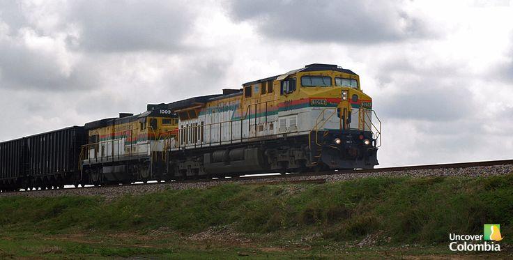 Coal train in transit from El Cerrejon - La Guajira, Colombia