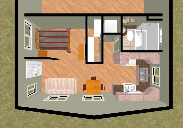 The 3d top view of 3 a 360 sq ft duplex design cozy 39 s 300 sq ft duplex house plans