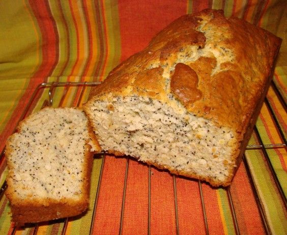 Cake mix poppy seed bread recipe