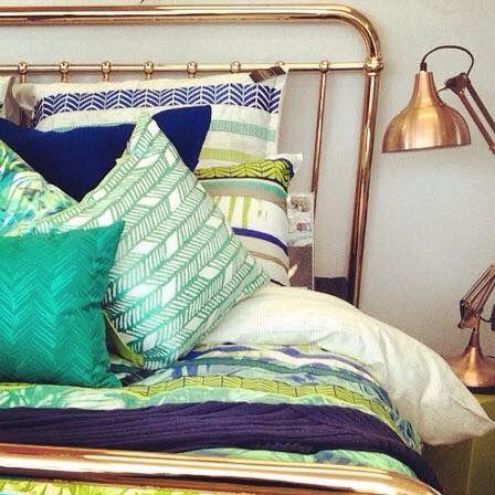 Rose gold @dcb_designs #dcbdesigns #rosegold #homewares #bed #bedding #kasaustralia