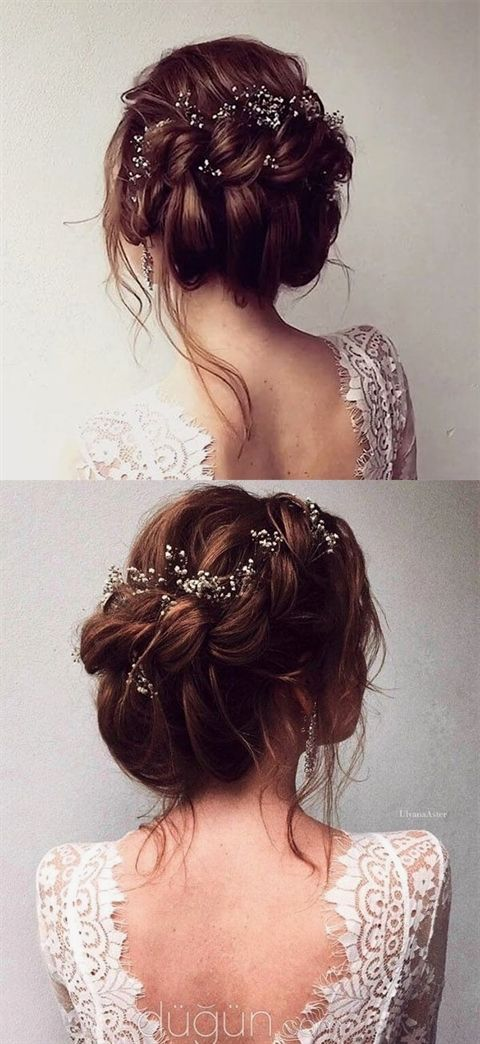 Gorgeous Bridal Updo Hairstyle For All Brides Weddinghairstyles