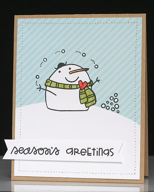 cute, card using Paper Smooches