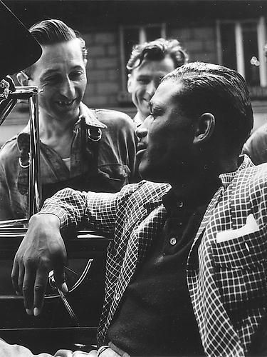 Sugar Ray Robinson by Bert Hardy - 1951