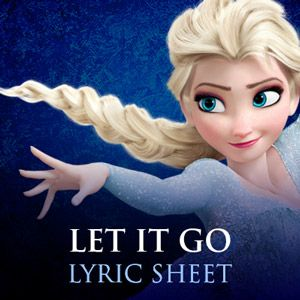 All Frozen song lyrics to create my own Fill in the Blank party game.
