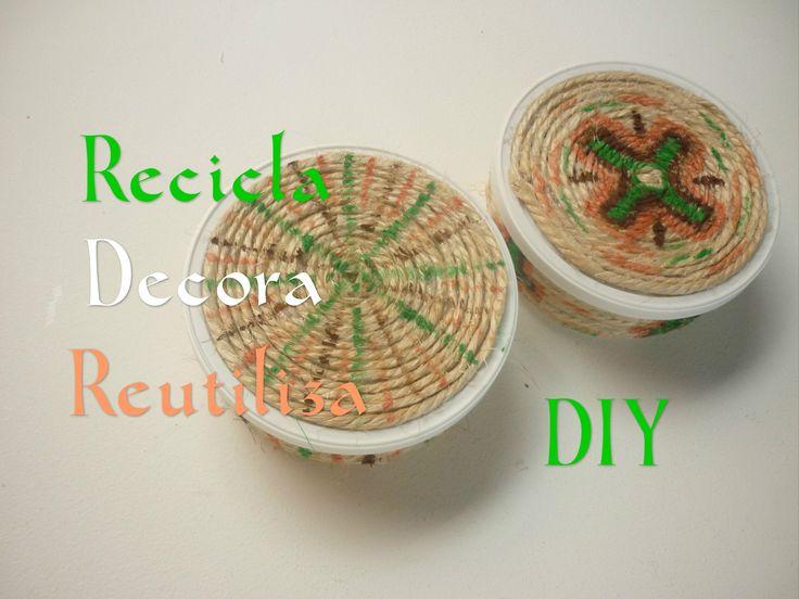 Manualidades: RECICLA,DECORA y REUTILIZA DIY – Crafts: RECYCLE, REUSE an...