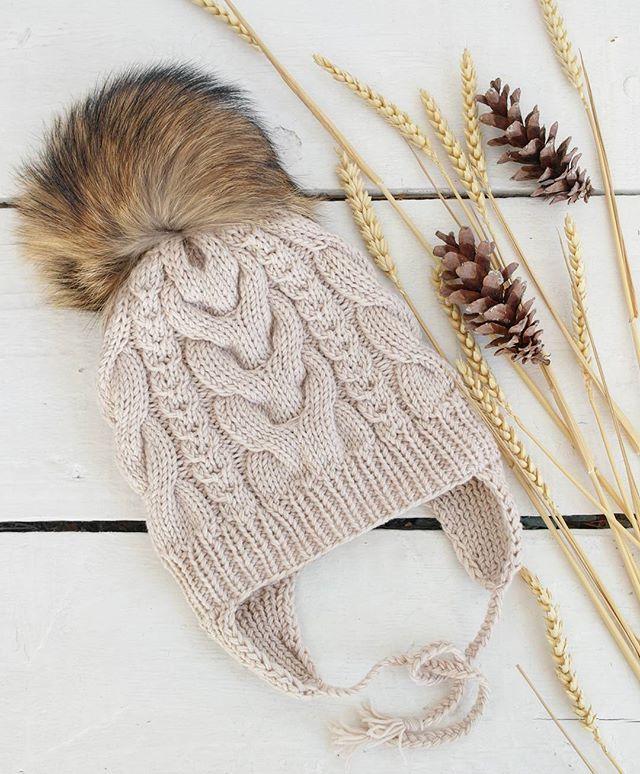 Зимняя шапочка ,с флисовым подкладом и пушистым помпоном #назаказ 👸