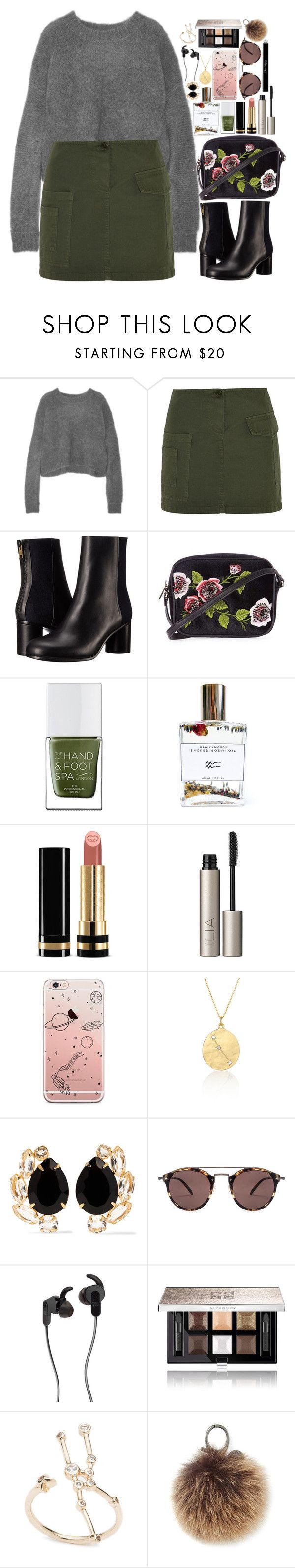 """""""❤"""" by polinachaban ❤ liked on Polyvore featuring 3.1 Phillip Lim, Band of Outsiders, Paul Smith, Topshop, The Hand & Foot Spa, Bodhi, Gucci, Ilia, BROOKE GREGSON and Bounkit"""