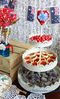 Yummy Australia Day food :) This would keep the kids VERY happy!