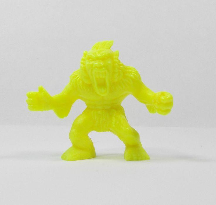 Monster In My Pocket - Series 1 - 24 Windigo - Neon Yellow - Mini Figure