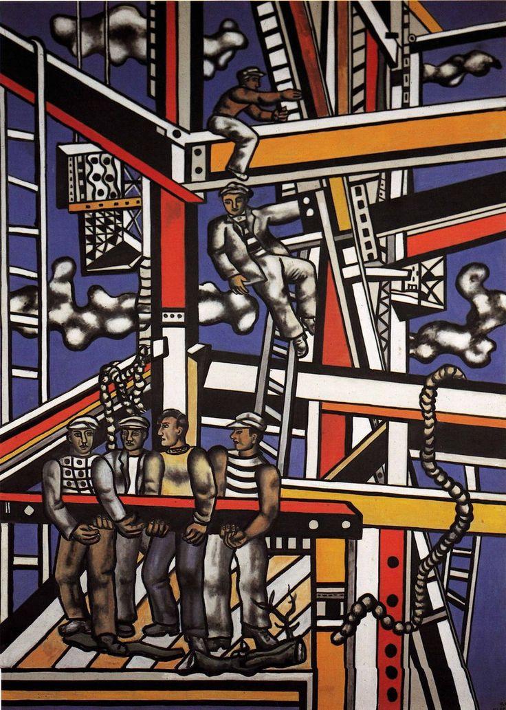 'The Builders', Fernand Léger, 1950