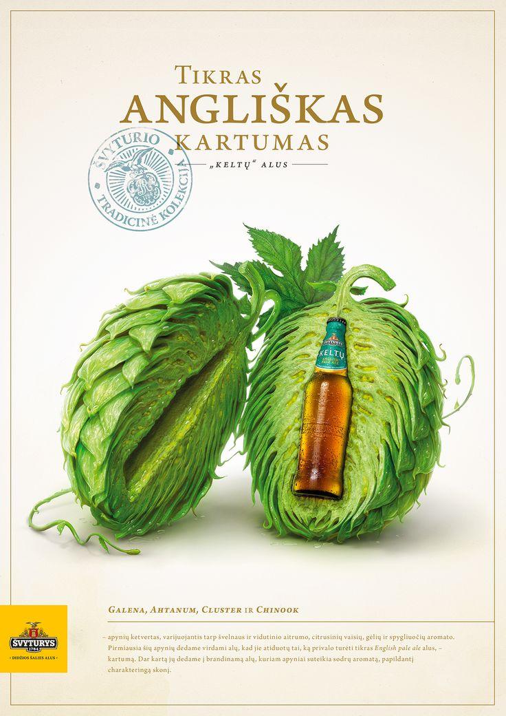 Svyturys Keltu beer on Behance